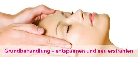 Kosmetik Grundbehandlung